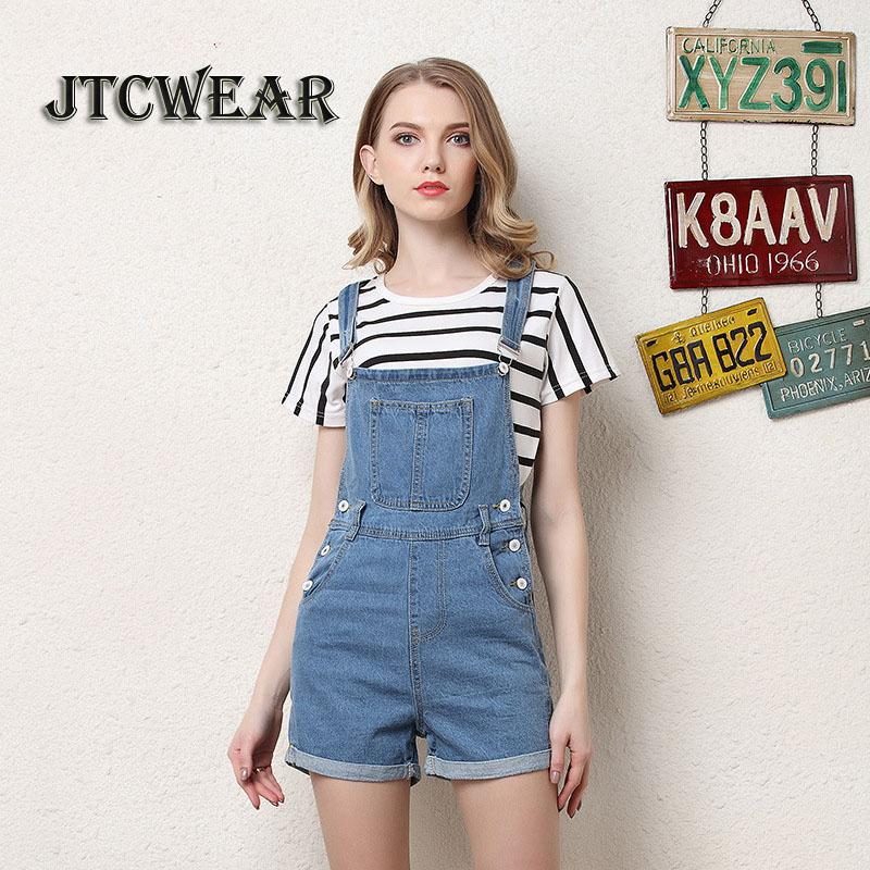 89df3dc543 2019 JTCWEAR Young Lady Cute Bib Dungarees Woman Spaghetti Denim Shorts  Suspenders Jumpsuits Distressed Jeans Overalls Shortalls 419 From  Xisibeauty, ...