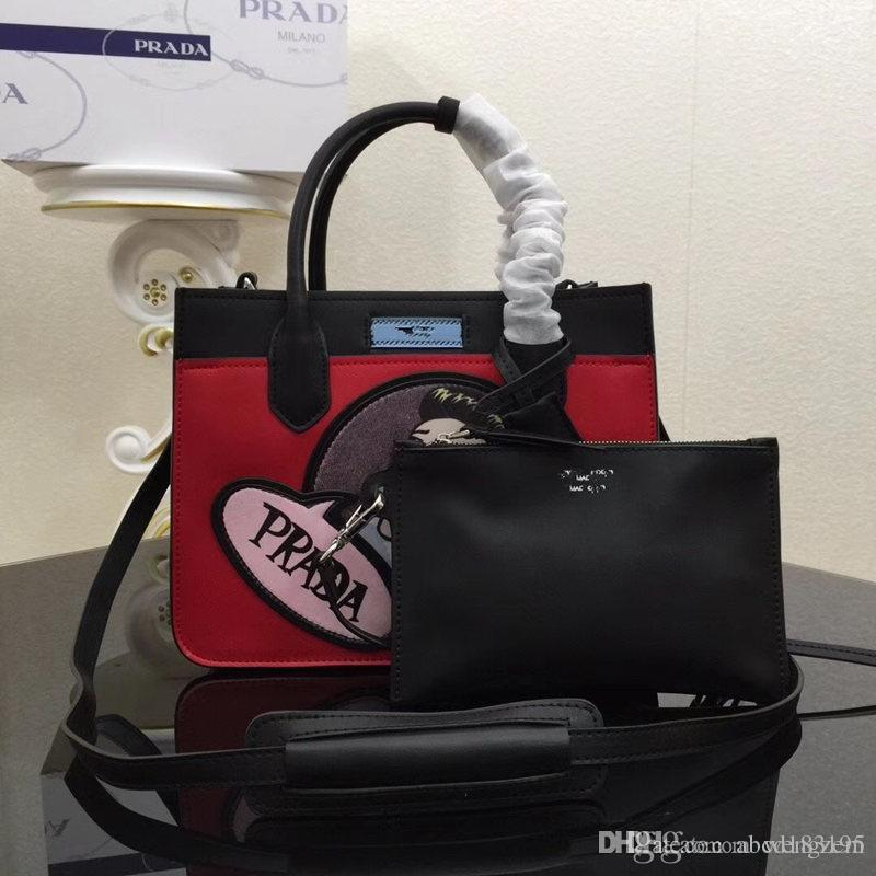 498256581477 2018 Brand Designer Handbag High Quality Luxury Brand 1BA176A Handbag  Shoulder Bag Ladies Bag Fashion Leather Messenger Bag Fashion Bags  Crossbody Bag ...