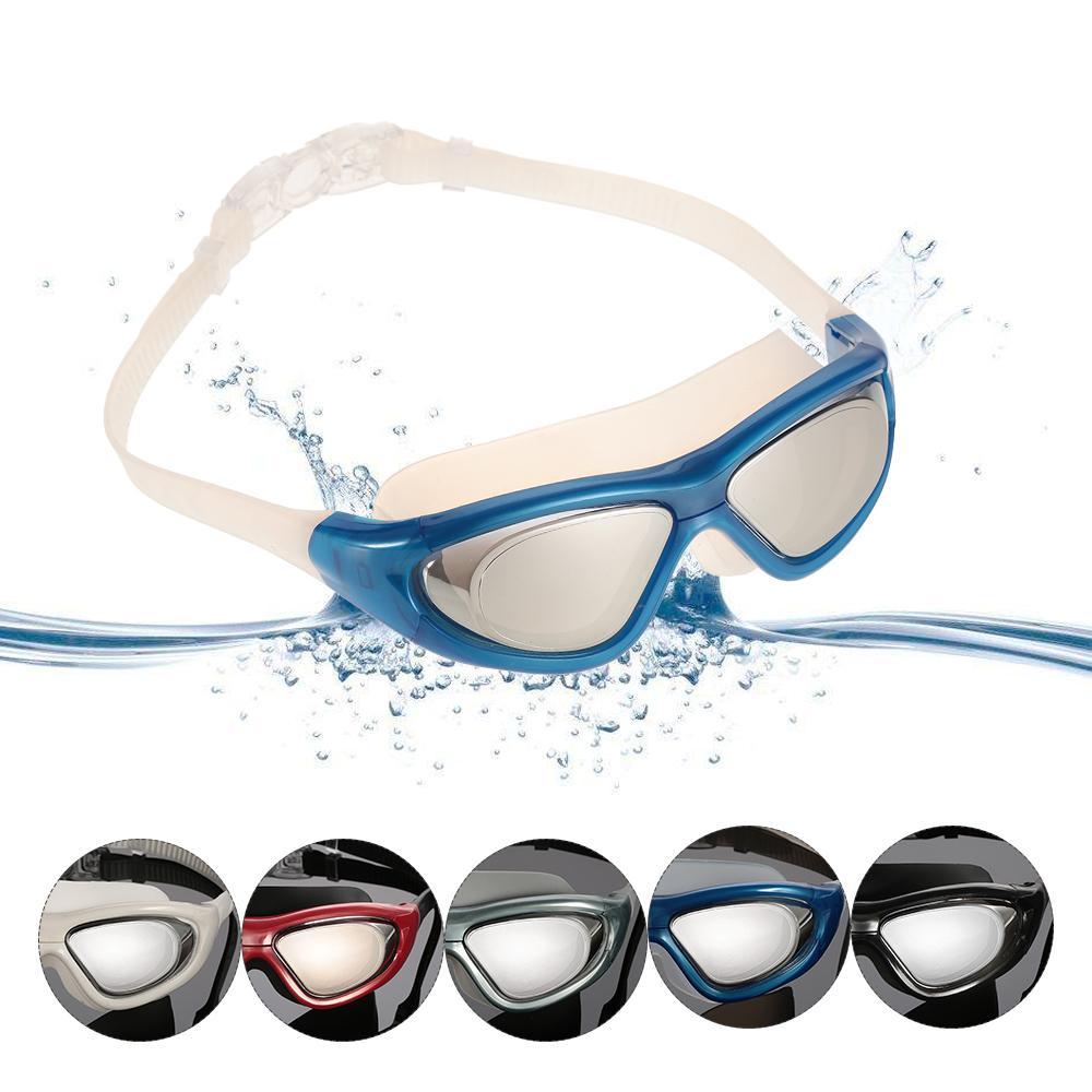 064d242f8810 Cheap New Professional UV Protection Anti-Fog Swim Glasses Waterproof Men  Women Swiming Goggles With Storage Case