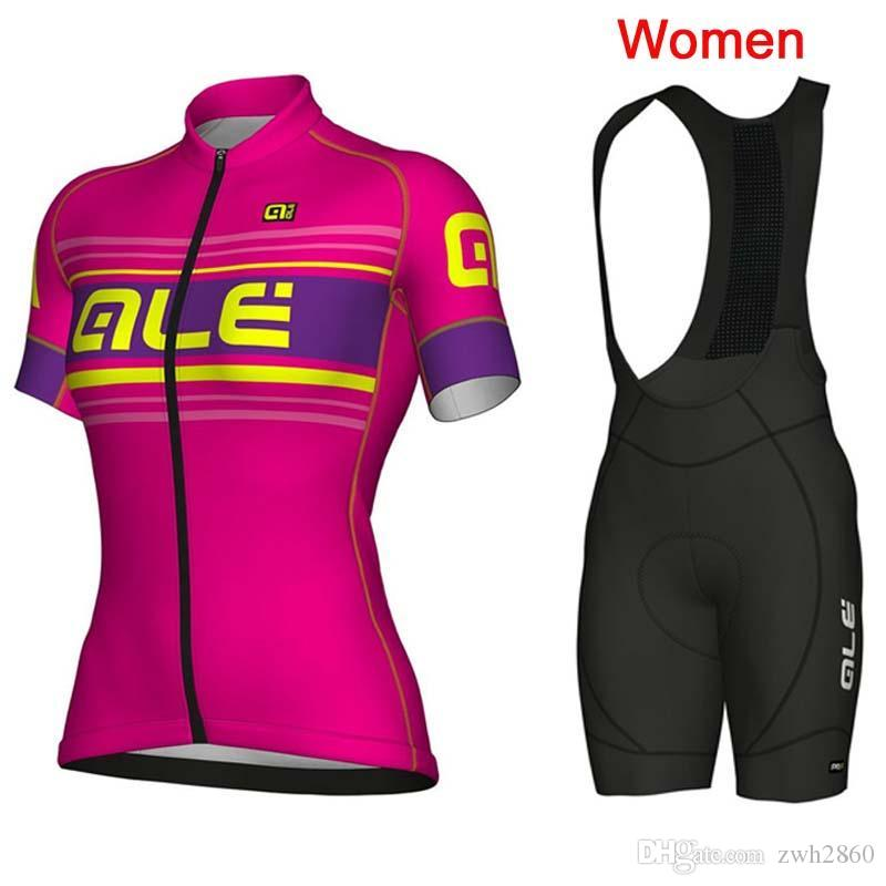 Ropa Ciclismo Mujer Summer Breathable ALE Cycling Jersey 2018 New Women Pro  Team Mountain Bike Short Sleeve Cycling Clothing Set F2604 ALE Cycling  Jersey ... fdfbdea28