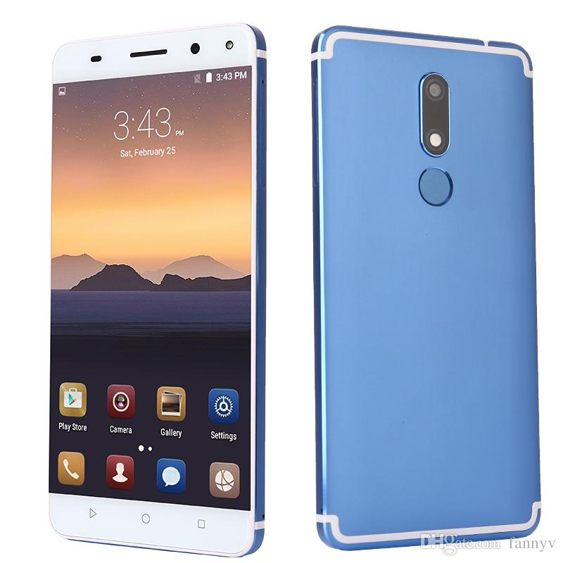 Fast 5.5 inch touch screen dual camera GPS WIFI android 4G LTE smart cell phone 2GB+16GB