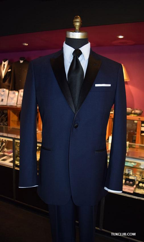 2019 2018 Latest Coat Pant Designs Navy Blue Black Peaked Lapel Tuxedos  Casual Suit For Wedding Smart Business Blazer Jacket+Pants From Aprili cae85891d107