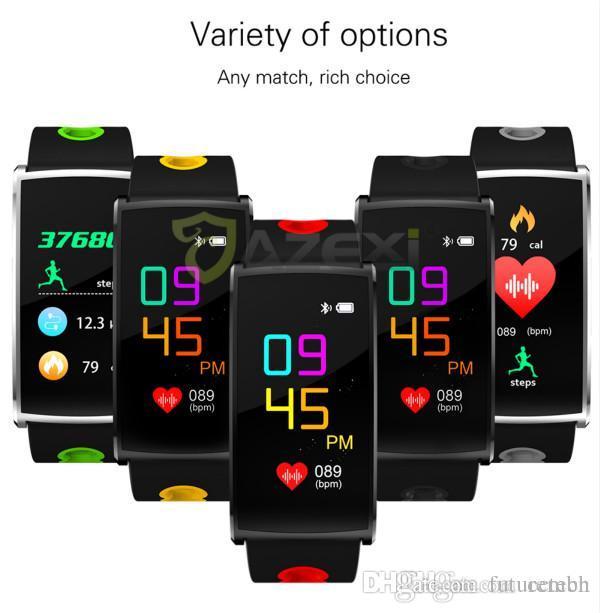 9c9893a293c5 2018 el último deporte Banda inteligente N68 Frecuencia cardíaca Rastreador  de FC Pulsera inteligente Detección de presión arterial Dispositivo ...