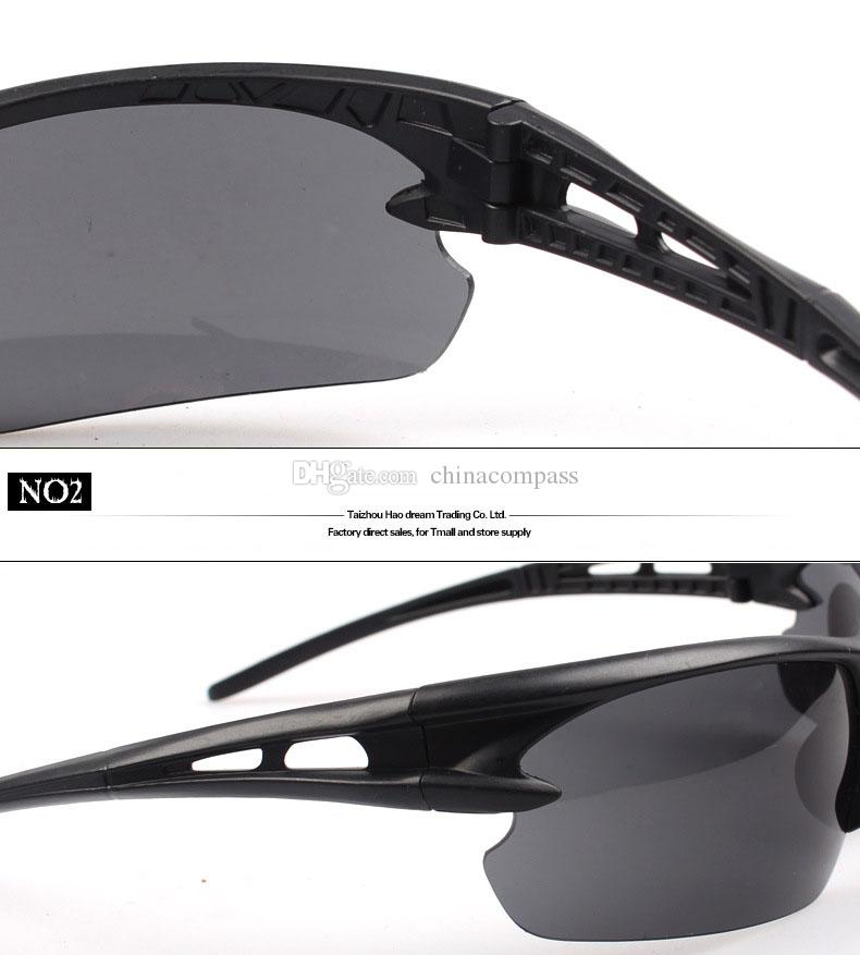 Envío libre de DHL Deportes al aire libre Ciclismo Gafas de sol Bicicleta Montar en bicicleta Gafas de sol Gafas Gafas UV400 Lente Gafas al aire libre