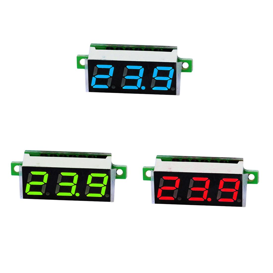 Mini Digital Voltmeter Voltage Tester Meter 028 Inch 25v 30v Led Electronics Test Circuit For A Series Including Screen Electronic Parts Accessories