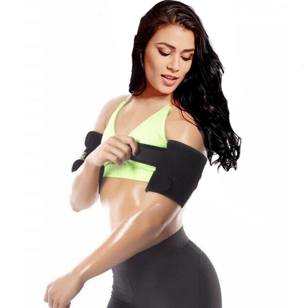 73ae5499185 Hot New Arm Trimmers Wraps For Slimmer Arms Lose Fat   Reduce Cellulite Heat  Maximizing Neoprene Armbands Best Body Shapers Arm Fat Burn Arm Slimmer  Belt ...
