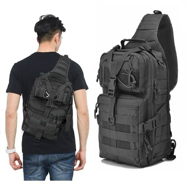 07fd9479e6b9 Military Tactical Assault Pack Sling Backpack Army Molle Waterproof EDC Rucksack  Bag For Outdoor Hiking Camping Hunting Trekking Travelling Clutch Bags ...