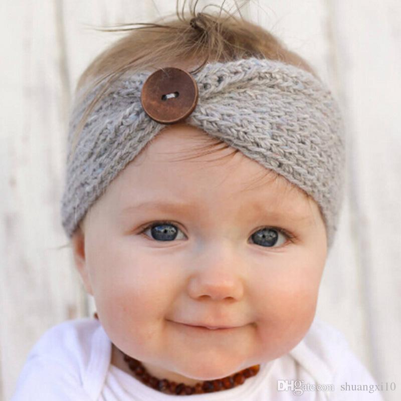Großhandel Neugeborene Turban Ohr Winter Warme Taste Stirnband ...