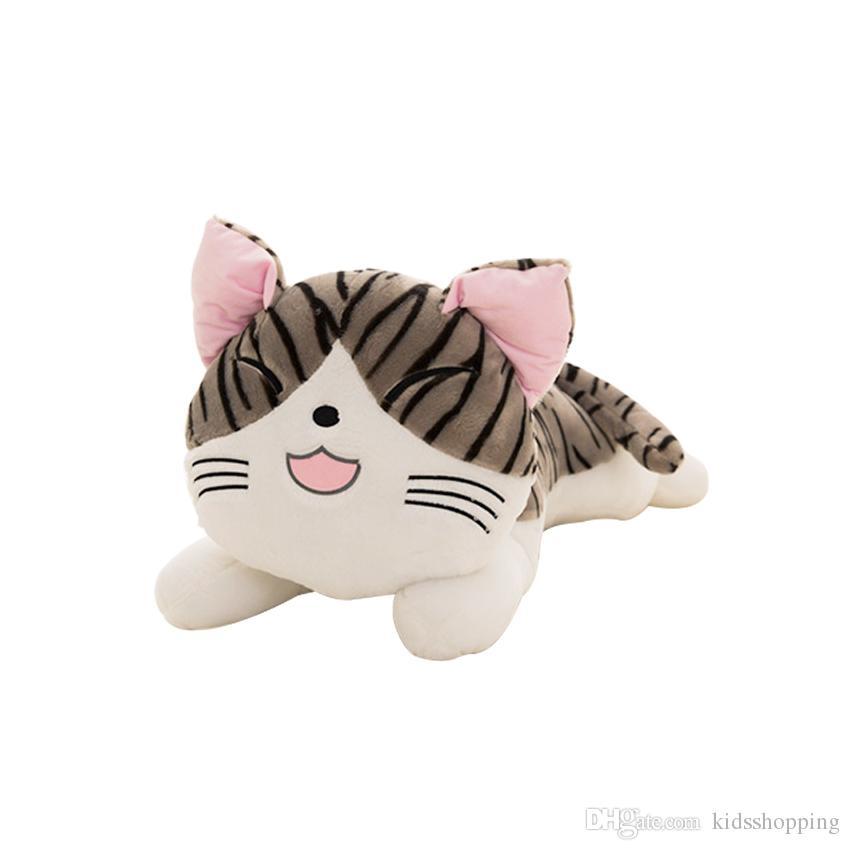 soft 20cm Christmas Birthday Gifts Japan Anime Figure Cheese Cat Plush Stuffed Toy Doll Pillow Cushion Kawaii Toy for kid