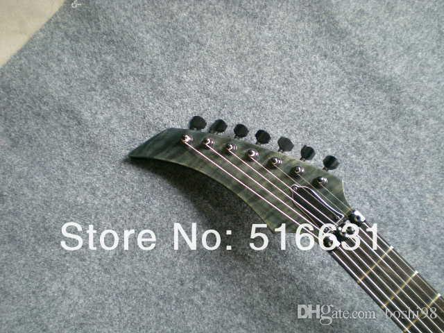 Wholesale - Hot selling 7 strings gray pearl electric guitar in stock