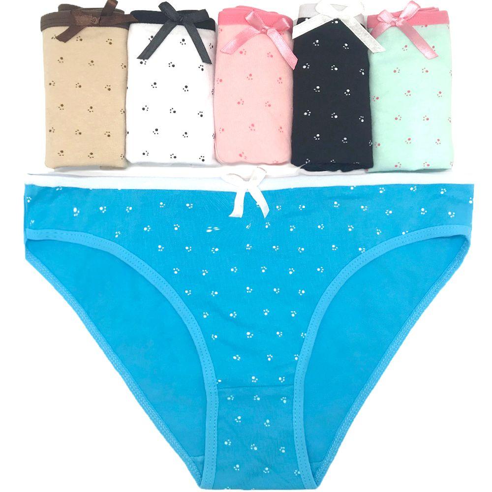 5b3a5876d Compre Pacote De 12 Dot Breve Algodão Lady Calcinhas Mulheres Bikini  Underwear Lady Calças Lingerie Sexy Sizem Lxl 22.04 25.2 Atacado De  Wholesale underwear ...