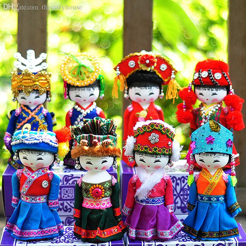 2019 Traditional Chinese Cultrue Wooden Hand Made Ethnic