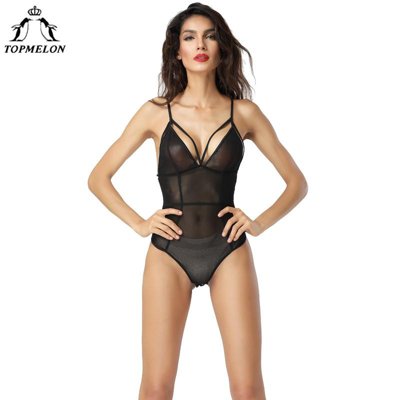 65e5aa9e3b934 2019 Wholesale Underwear Women Modeling Strap Tops Slim Shaperwear Body  Shaper Bodysuit Sexy Hollow Out Mesh Transparent Lingerie From Clothesg009