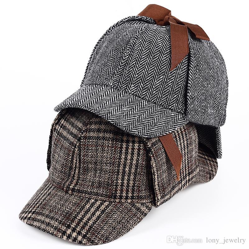 Compre Sherlock Holmes Detetive Chapéu Bonés De Beisebol Bucket Hat  Casquette Snapback Chapéus De Grife Pai Chapéu Cabido Chapéus Mulheres Mens  Chapéus De ... 1bf22720428