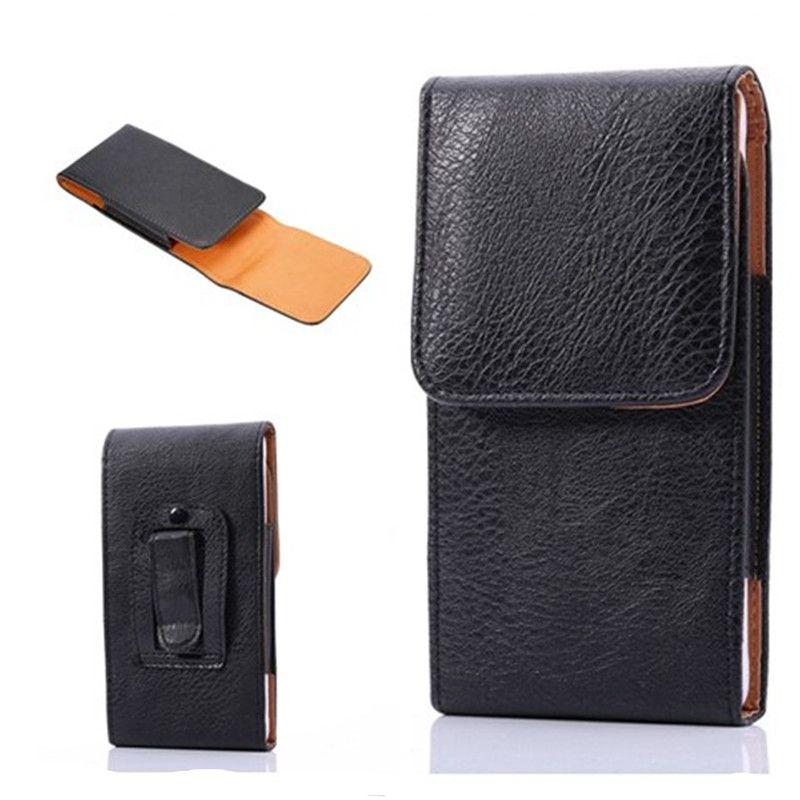 huge selection of 9f729 1b25b Faux Leather Vertical Holster Belt Clip Multi-Function Mobile Phone Bag  Belt Case Holster Clip Waist Bag For iPhone X 8 Samsung Note9 OPP