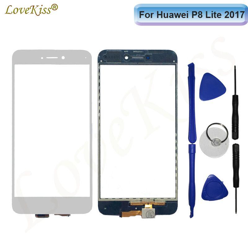 Touchscreen Front Panel For Huawei P9 Lite 2017 Honor 8 Lite Nova GR3 2017  P8 Touch Screen Sensor Digitizer Glass