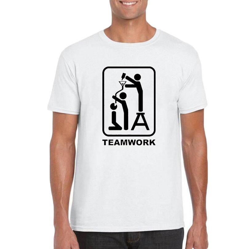 09bdc516a1 Keg Stand Team T Shirt Men Slogan Team Work Home Made Beer Competition  Graphics Tee Shirt Homme Fashion Funny Printing T Shirts Cool T Shirts  Online Funny T ...