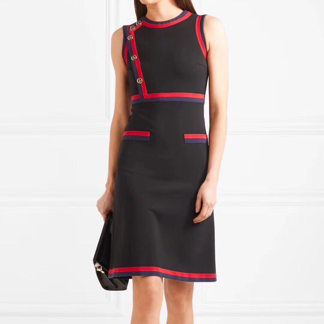2018 Basic 2018 Fashion Women One Piece Dress Brand Designer Dress ...