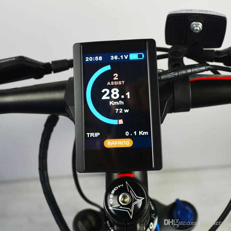 BAFANG 850C Full Color LCD 8fun DP C14 LCD Display Available for Electric  Bicycle BBS02 BBSHD 36V/48V AElectric Bicycle Motor ccessories