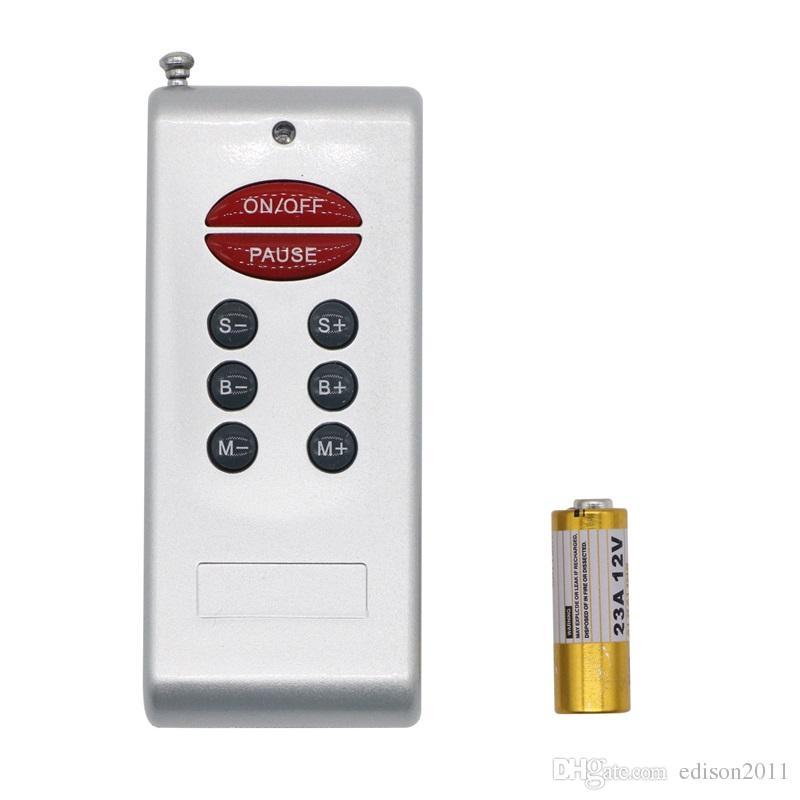 Edison2011 беспроводной RF LED контроллер 30A DC 12 в RGB пульт дистанционного 8 ключ для 5050 RGB светодиодные полосы света