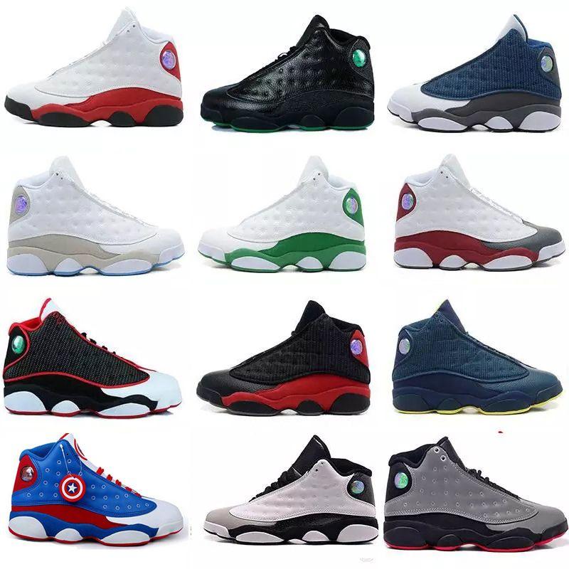 Acheter 2018 Basketball Chaussures 13 Noir Chat Hyper Royal Olive Ptsidiux-152049-7480278 With The Best Service Chaussures Tendance