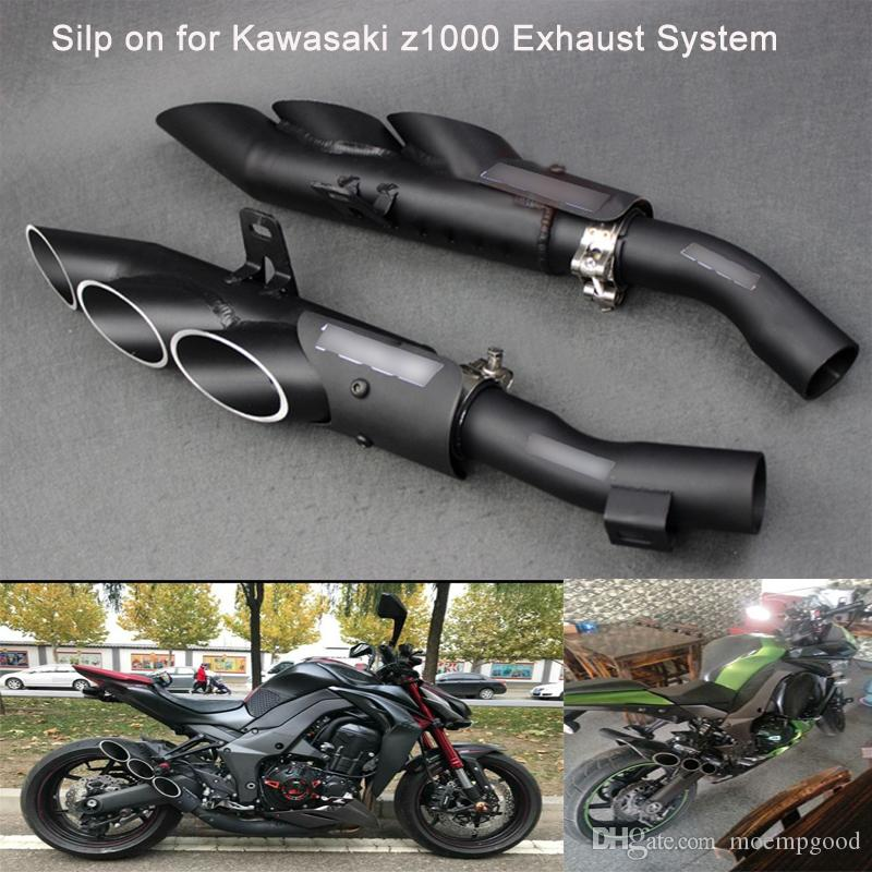 2019 For Kawasaki Z1000 Motorcycle Exhaust Silencer System Silp On