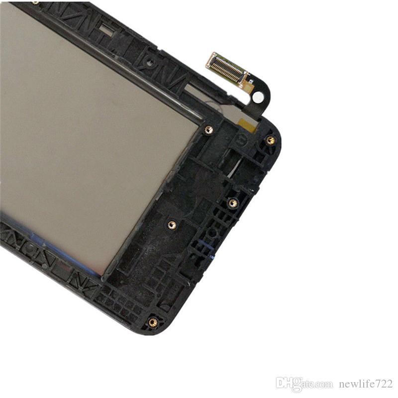 Original para lg aristo 2 sp200 mx210 touch screen digitador display lcd com assembléia quadro k8 2018 substituição da tela atacado
