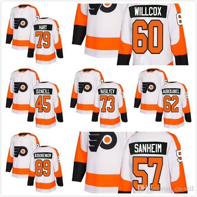 Philadelphia Flyers Carter Hart 60 Reece Willcox 45 Will O Neill 57 ... e6ee2fd94