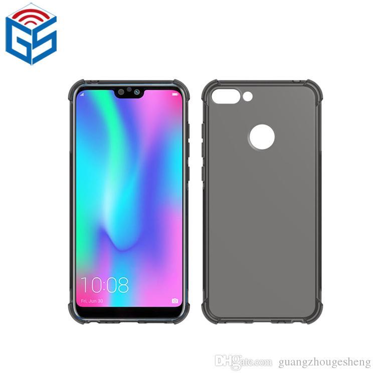 check-out 1ca67 792a6 Honor 9N Soft Gel TPU pieno chiaro posteriore Cover per cellulare per  Huawei Honor 9N