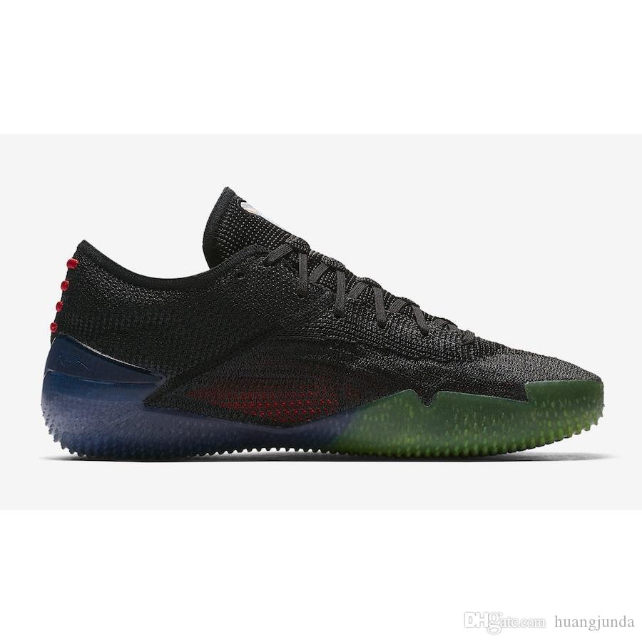 ec8a194a3d9e 2019 Cheap 2018 New Mens Kobe AD NXT 360 Basketball Shoes Mamba Day Zoom  Air KB 12 Xii Elite Sneakers Trainers Boots With Original Box For Sale From  ...