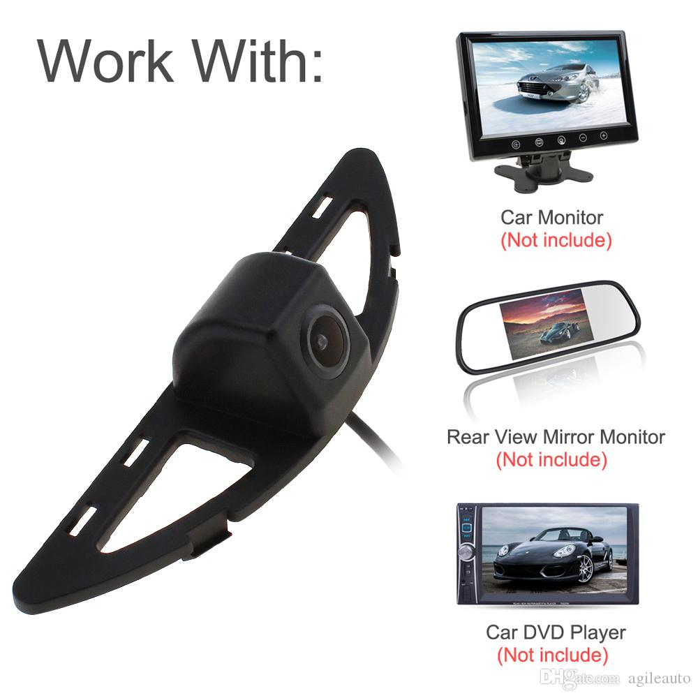Auto Car Rearview Camera Reverse Backup Parking Camera CCD HD 480TVL 170 Degrees Wide Angle for Honda City CAL_015