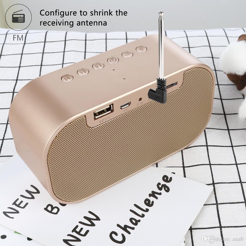 S2 Беспроводной Динамик Bluetooth Беспроводной Мини Мобильный Будильник Небольшой Аудио Компьютер Автомобиль Сабвуфер Стерео Звук