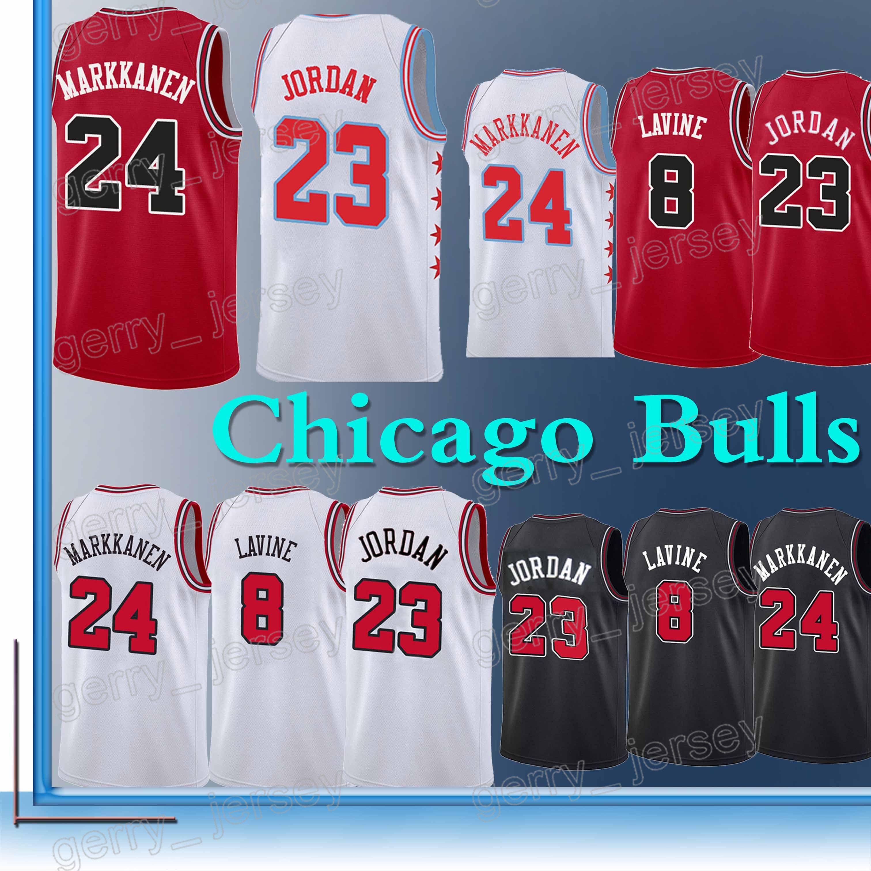e44ccc3bdf0 uk 2018 chicago bulls jersey 23 mj 24 lauri markkanen 8 zach lavine 34 wendell  carter .