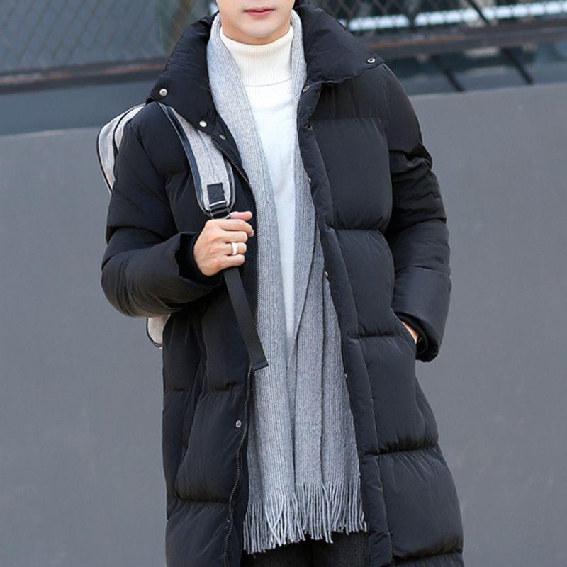 a00fc701937 2019 2018 Mens Winter Coat Men Hooded Jacket Cotton Casual Mens Jackets  Coats Warm Overcoat Streetwear Men Thick Parka Windbreaker From Vanilla06