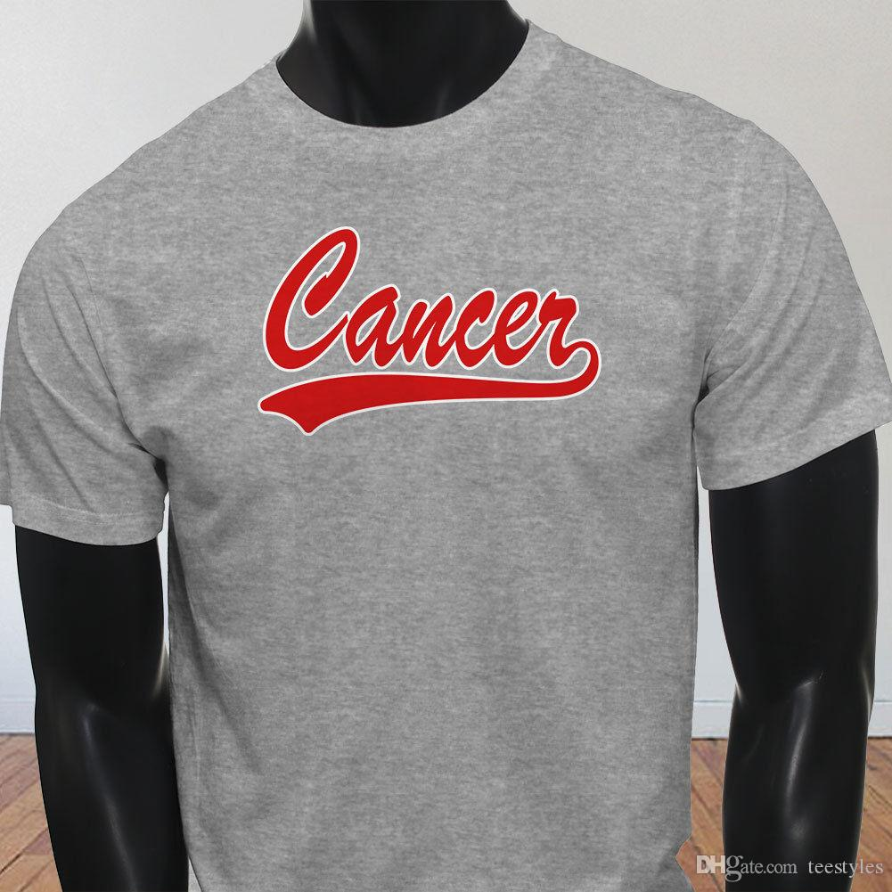 Cancer Athletic Zodiac June July Birthday Gift Mens Gray T Shirt Men ManS Funny Custom Short Sleeve BoyfriendS Plus Size Couple Te Designer Tee