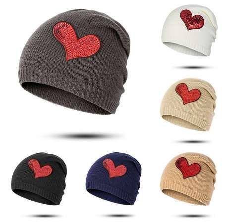 8bc9cc9158 Evrfelan Women Knitted Winter Hat Cap Casual Beanies Female Solid Color  Fashion Spring Autumn Skullies Beanie Hat bonnet gorro
