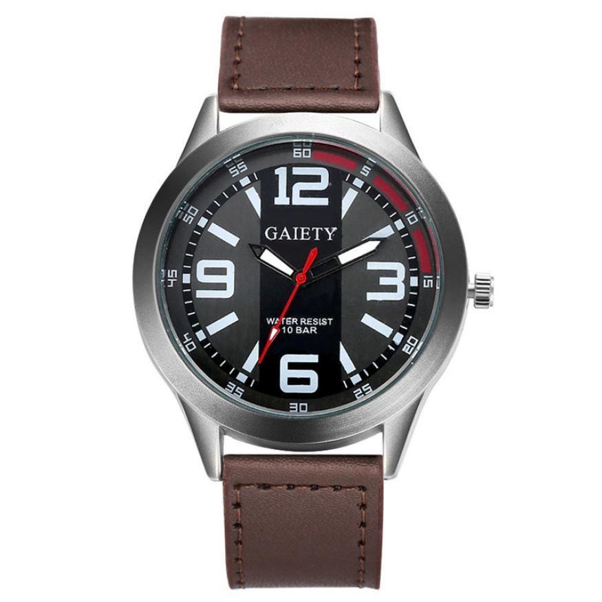 0b60b389a72 Compre Relógio Dos Homens De Moda Design Retro De Luxo Dos Homens Relógio De  Aço Inoxidável De Couro Analógico Relógios De Quartzo Transporte Da Gota ...