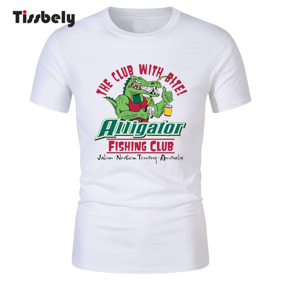 Tissbely T Shirt Design Alligator Fish Club Printed Customized