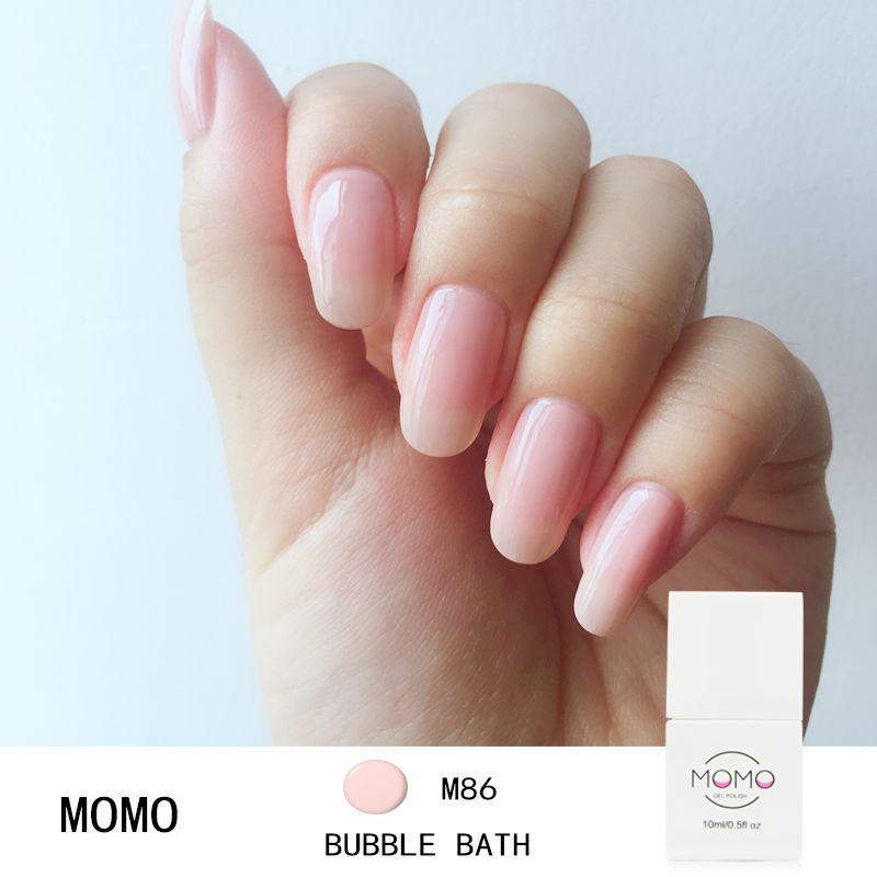 MOMO 10ML Manicure UV Gel Nail Polish DIY Hybrid Gelpolish Winter ...