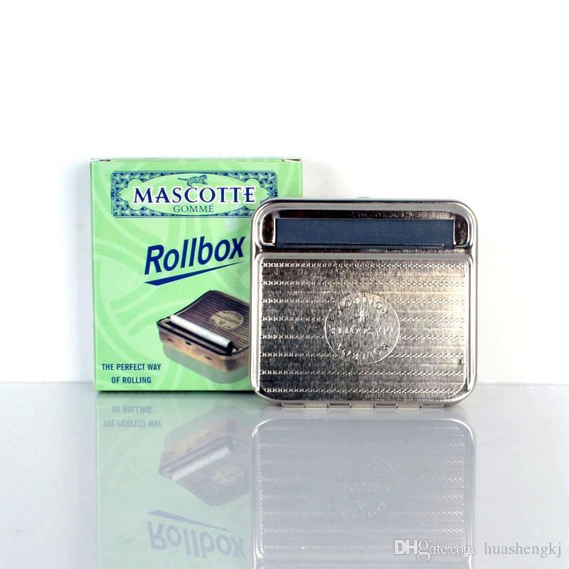 Новые Rollbox автоматическая сигарета прокатки машина 70 мм DIY роликовые коробки идеальный способ прокатки высокое качество аксессуары для курения горячие продажа