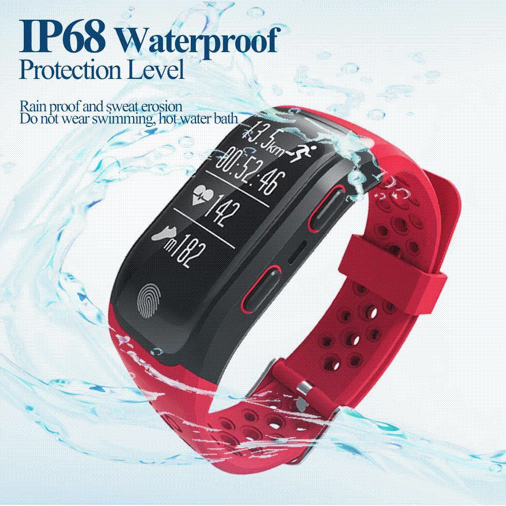 8bf062d26ee 2018 Smart Bracelet IP68 Waterproof Watch S908 GPS Smart WatcHeart Rate  Wristband Sleep Monitor Fitness Pedometer Sport Tracker Wristband Fitness  Trackers ...