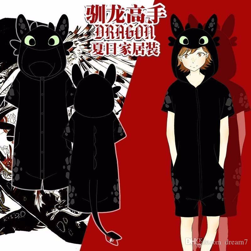 Hot how to train your dragon toothless kigurumi short sleeve pajamas hot how to train your dragon toothless kigurumi short sleeve pajamas sleepwear teen costumes men halloween costumes from dream7 2212 dhgate ccuart Image collections