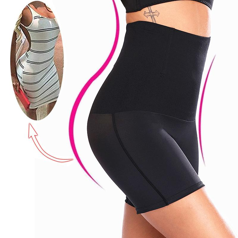 5bd3d043a7c 2019 NINGMI High Waist Trainer Women Control Panties Seamless Tummy Belly  Body Shaper Slimming Pant Butt Lifter Sexy Underwear Briefs From  Xiamen2013