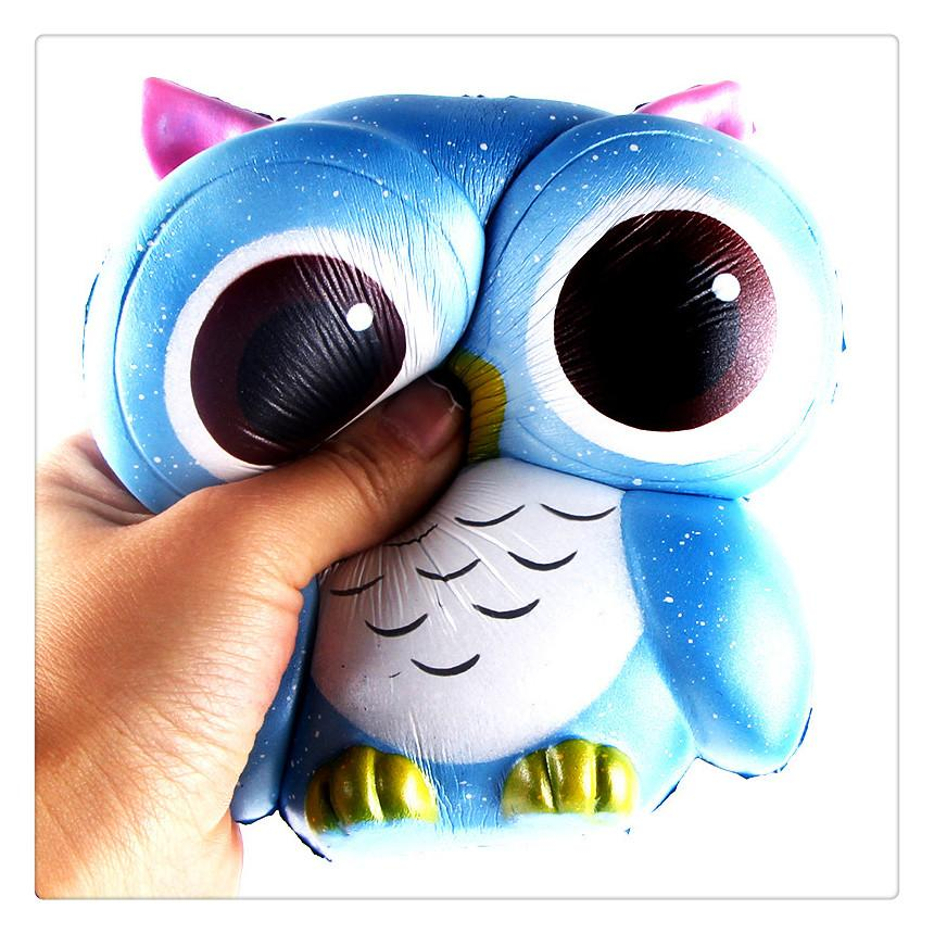 Squishy Slow Rising Jumbo Spielzeug Brötchen Spielzeug Tiere Nette Kawaii Squeeze Cartoon Spielzeug Mini Owl Squishy Fashion Cute Animal