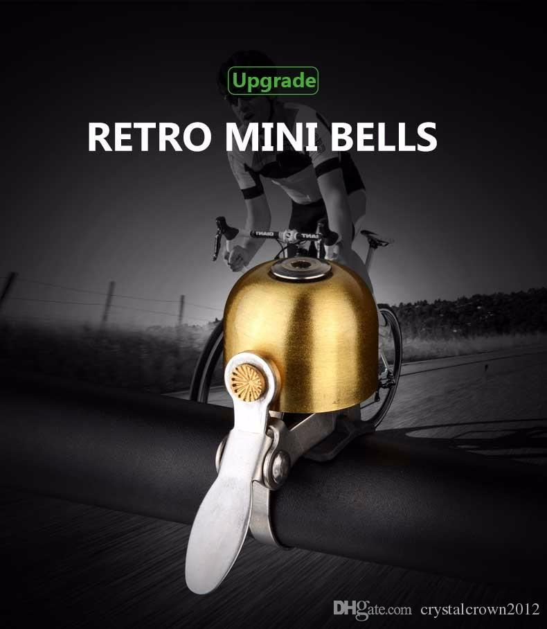 Stainless Steel Bicycle Bell Bike Sound Handlebar Classical Ring Horn Safety Bike Sport Alarm Bell Bicycle Accessories