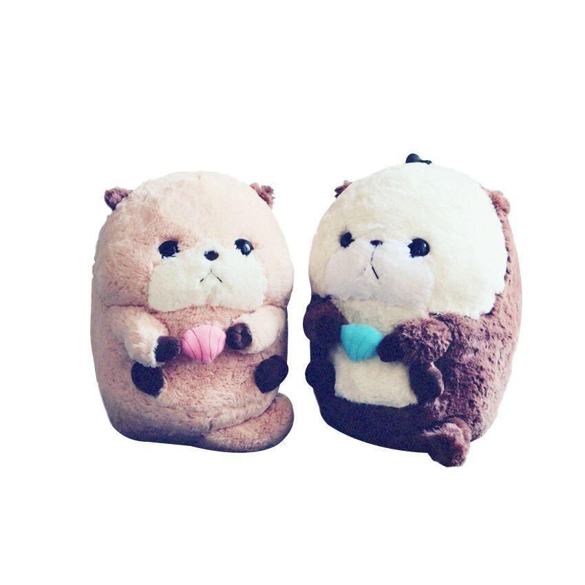 2019 35cm Stuffed Animal Plush Sea Otter Soft Plush Toy Cute