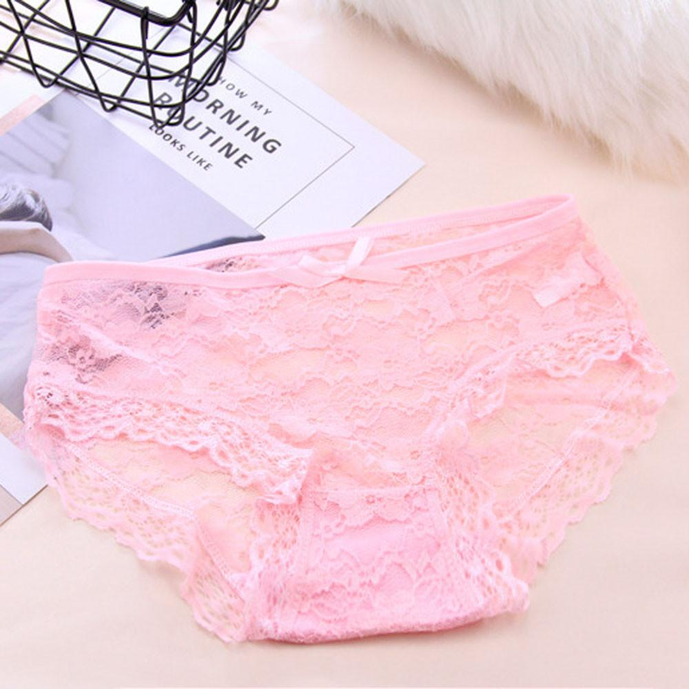 c7124b35d6 2019 Women S Intimates Jacquard Net Transparent Lace Underwear Mesh Yarn  Underwear Woman Panties Underpants Culotte Femme Coton From Hannahao