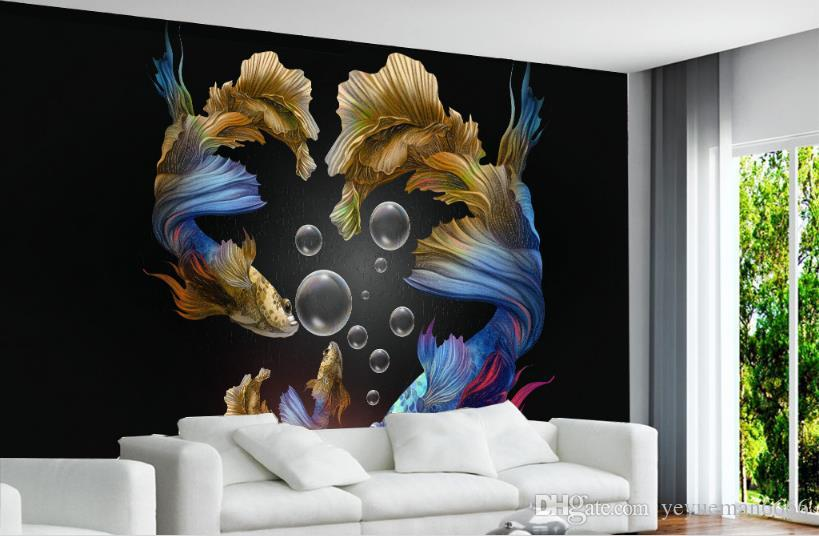 Papel tapiz 3D Foto Romper la pared caballo papeles de pared decoración para el hogar Dormitorio sala de estar papel pintado 3d estereoscópico