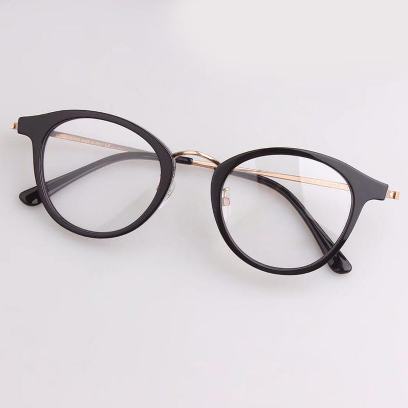 Vintage Round Glasses Frame for Women Men Acetate High Quality ...