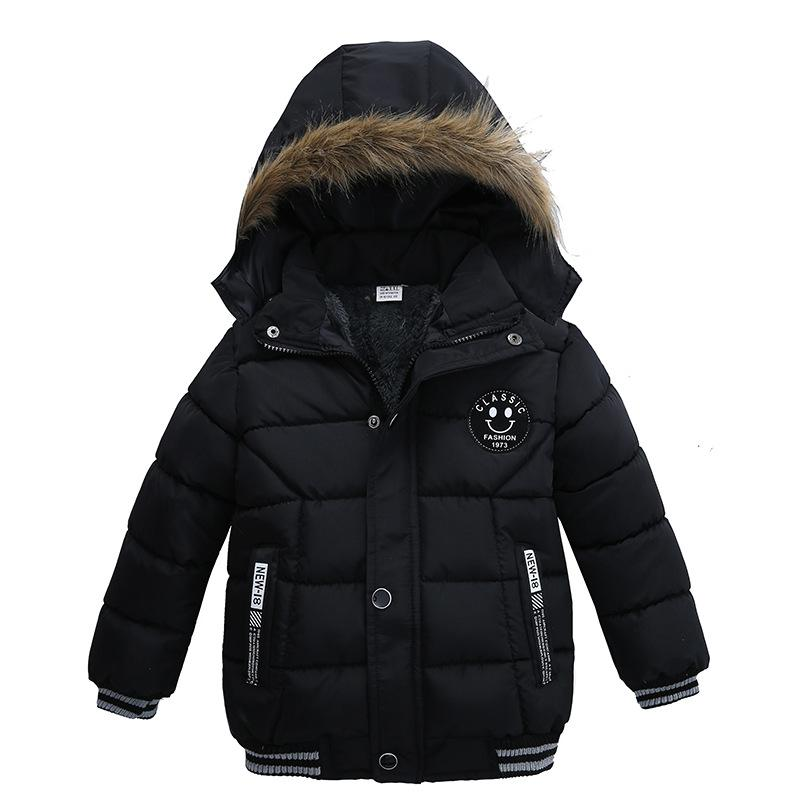 d7d9d58fe9c7 New Boys Jackets Parka Baby Outerwear Childen Winter Jackets for ...